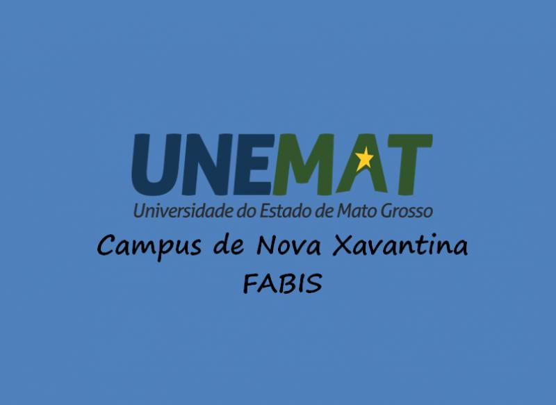 Edital n° 013/2019-UNEMAT: Processo Seletivo Simplificado para contratação temporária de Professor da Educação Superior para o Campus de Nova Xavantina – FABIS